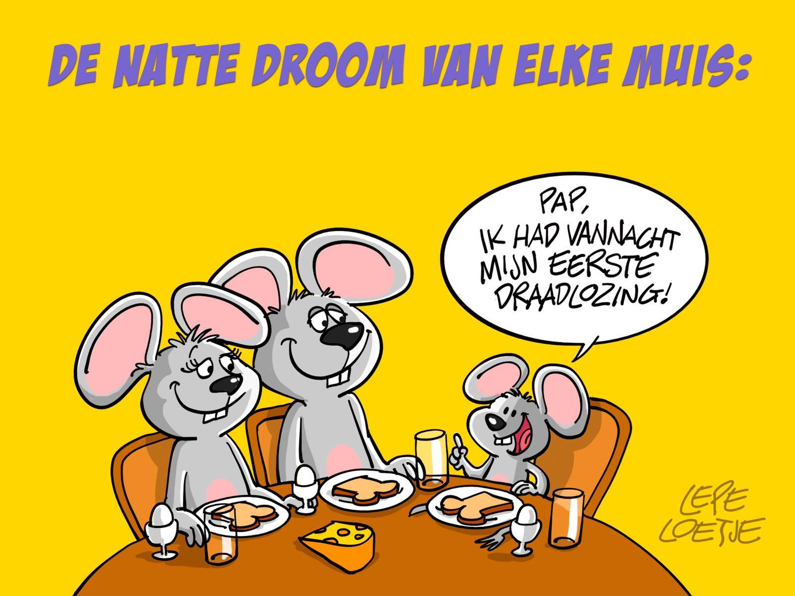 Lepe Loetje Cartoons Draadlozing