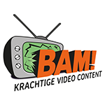 BAM video logo