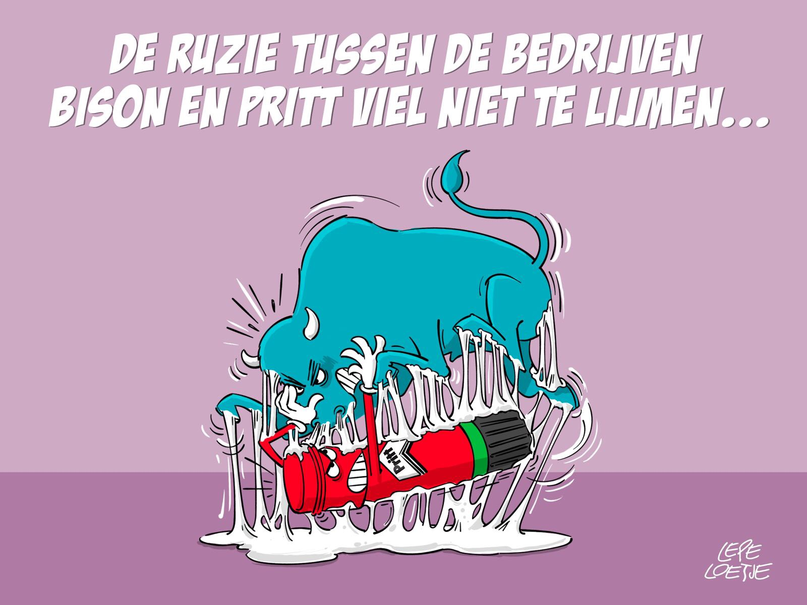 Lepe Loetje Cartoons Bison