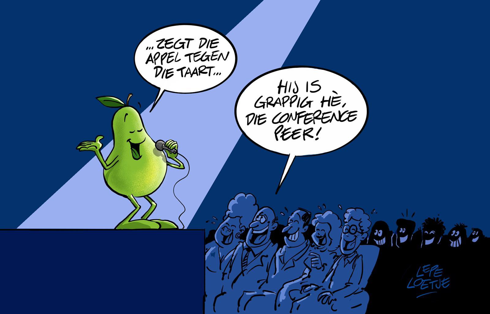 Lepe Loetje Cartoons Conference Peer