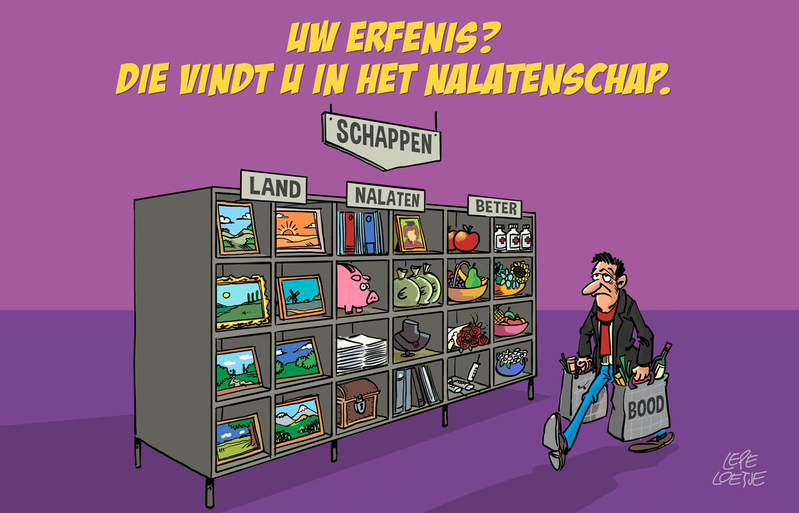 Lepe Loetje Cartoons Nalatenschap